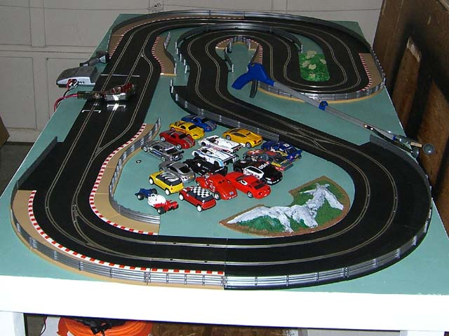 Would Love Some Help For A New Layout 4 X 8 1 32 Scalextric